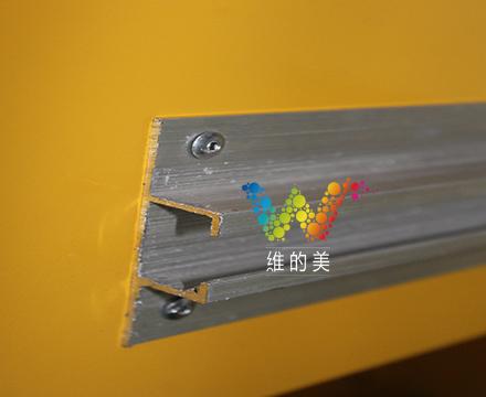 雷达测速两位数背面抱箍设计